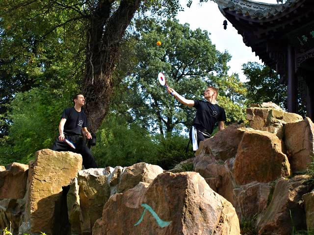 Taiji Bailong Ball Multiplay mit Christian und Thomas von Kungfu Spirit
